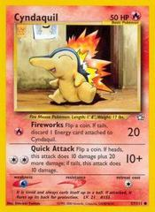Cyndaquil - 57/111 - Common - Unlimited Edition on Channel Fireball
