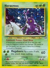 Heracross - 6/111 - Holo Rare - Unlimited Edition