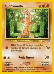 Sudowoodo - 77/111 - Common - Unlimited Edition