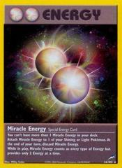 Miracle Energy - 16/105 - Holo Rare - Unlimited Edition