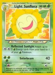 Light Sunflora - 72/105 - Common - Unlimited Edition