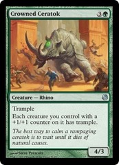 Crowned Ceratok on Channel Fireball