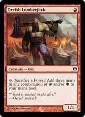 Orcish Lumberjack on Channel Fireball