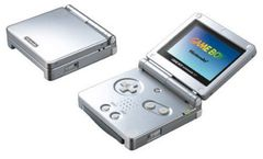 System: Game Boy Advance SP Platinum