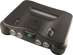 System: Nintendo 64 Black With Expansion Pak
