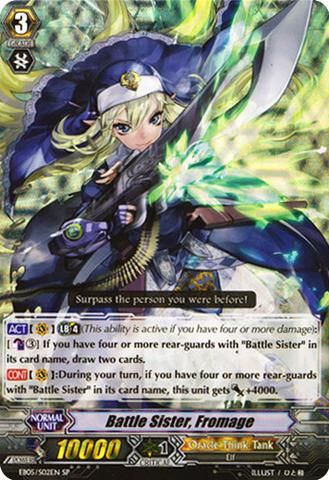 Battle Sister, Fromage - EB05/S02EN - SP