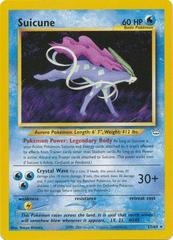 Suicune - 27/64 - Rare - Unlimited Edition