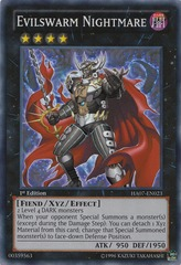 Evilswarm Nightmare - HA07-EN023 - Super Rare - Unlimited Edition
