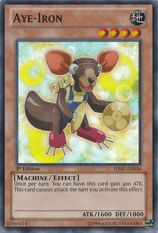 Aye-Iron - HA07-EN036 - Super Rare - Unlimited Edition