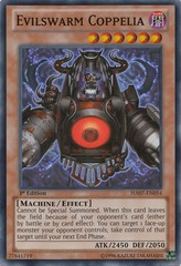 Evilswarm Coppelia - HA07-EN054 - Super Rare - Unlimited Edition