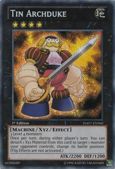 Tin Archduke - HA07-EN060 - Secret Rare - Unlimited Edition