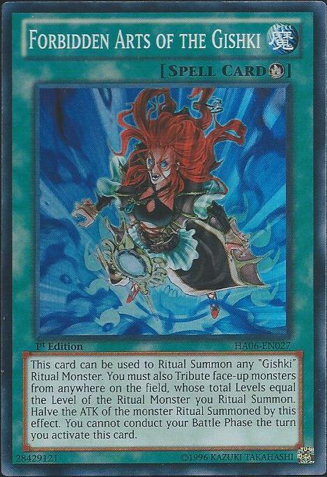Forbidden Arts of the Gishki - HA06-EN027 - Super Rare - Unlimited Edition