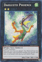 Daigusto Phoenix - HA06-EN054 - Secret Rare - Unlimited Edition