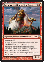 Purphoros, God of the Forge - Foil