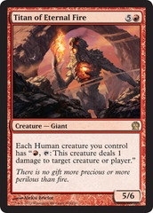 Titan of Eternal Fire - Foil