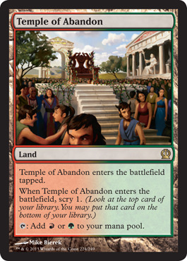 Temple of Abandon - Foil