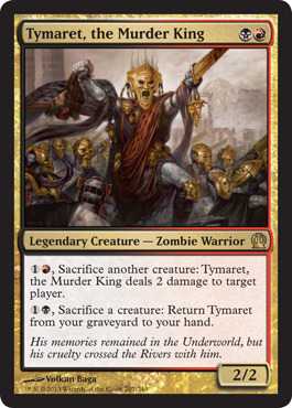 Tymaret, the Murder King