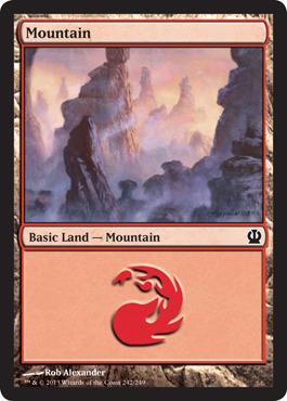 Mountain (242) - Foil