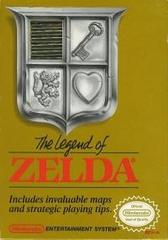 Legend of Zelda, The (Gold Cartridge - 3 Screw Cartridge)