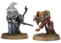Gandalf the Grey and Bilbo Baggins