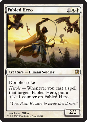 Fabled Hero - Foil