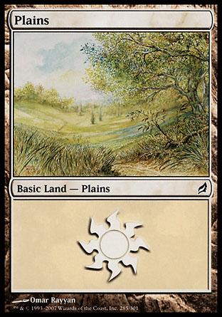 Plains (285) - Foil