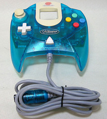 accessory: controller Dreamcast Millennium 2000 blue 1st party Sega