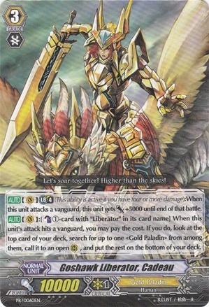 Goshawk Liberator, Cadeau - PR/0060EN - PR