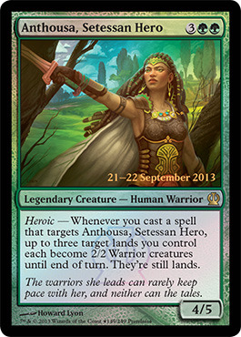 Anthousa, Setessan Hero - Foil - Prerelease Promo