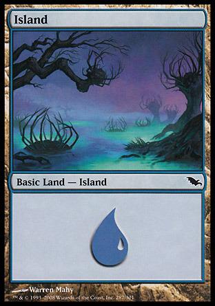 Island (287) - Foil
