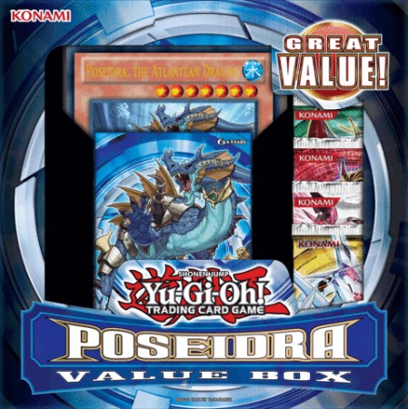 Yu-Gi-Oh Poseidra Value Box
