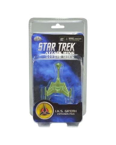 Attack Wing: Star Trek - I.K.S. Groth Expansion Pack