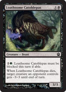 Loathsome Catoblepas