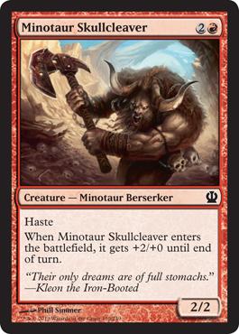 Minotaur Skullcleaver - Foil