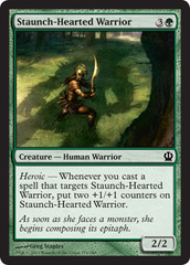 Staunch-Hearted Warrior - Foil