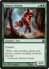 Vulpine Goliath - Foil