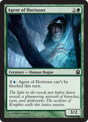 Agent of Horizons - Foil on Channel Fireball