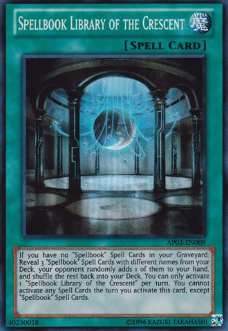 Spellbook Library of the Crescent - AP03-EN009 - Super Rare - Unlimited Edition