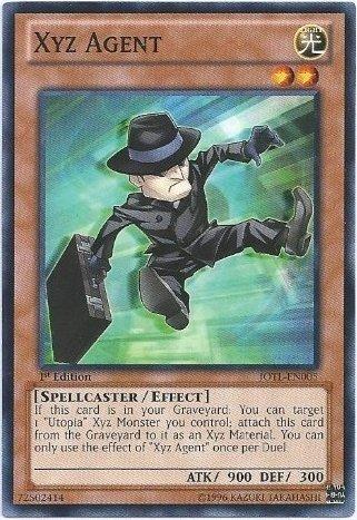 Xyz Agent - JOTL-EN005 - Common - Unlimited Edition - Yu-Gi-Oh