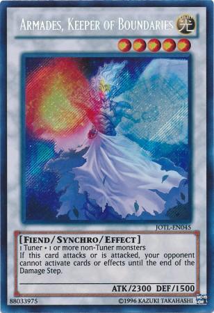 Armades, Keeper of Boundaries - JOTL-EN045 - Secret Rare - Unlimited Edition