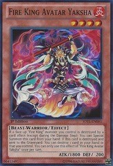Fire King Avatar Yaksha - JOTL-EN095 - Super Rare - Unlimited Edition