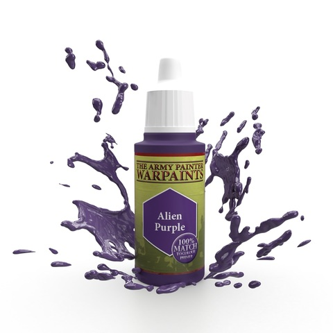 Warpaints: Alien Purple (100% match) 18ml