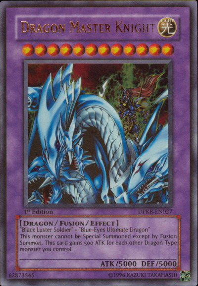 Dragon Master Knight - DPKB-EN027 - Ultra Rare - Unlimited Edition