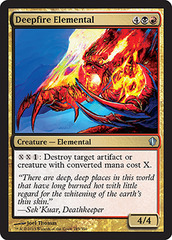 Deepfire Elemental on Channel Fireball