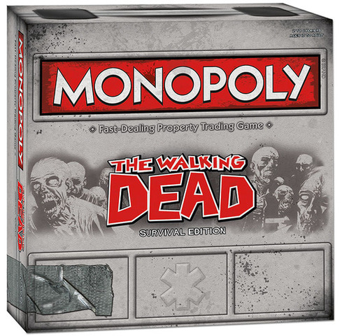 Monopoly - The Walking Dead (Survival Edition)