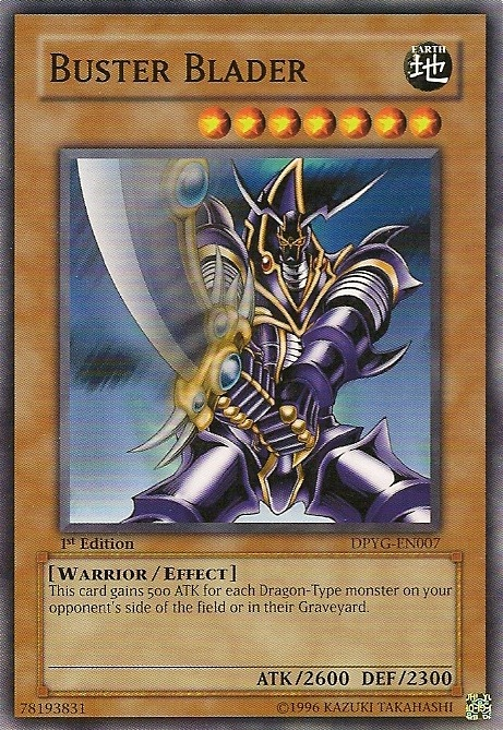 Buster Blader - DPYG-EN007 - Common - Unlimited Edition