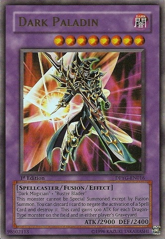 Dark Paladin - DPYG-EN016 - Ultra Rare - Unlimited Edition