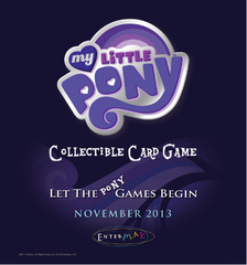 My Little Pony Collectible Card Game Booster Pack (Old)