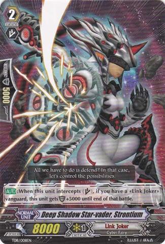 Deep Shadow Star-vader, Strontium - TD11/008EN - TD