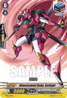 Dimensional Robo, Goflight TD12/016EN - TD